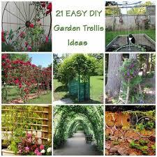 build a garden trellis 21 innovative and easy diy garden trellis ideas gardenoid