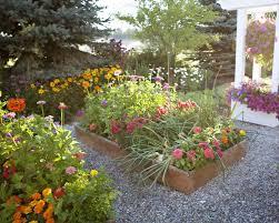 raised bed flower garden gardensdecor com