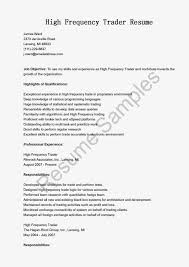 Sales And Trading Resume Equity Trader Resume Template And Job Description Online Resume