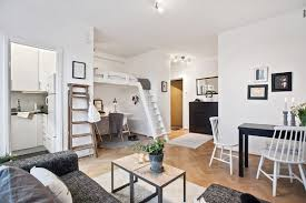 SpaceSaving Design In A  Square Meter Gothenburg Studio Apartment - Design apartments gothenburg