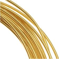 5 meters to feet beadsmith brass german bead wire craft wire 20 gauge 8mm 5