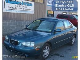 2003 hyundai elantra 2003 hyundai elantra gls sedan in blue 569900