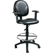 counter height desk chair counter height office chairs desk chair black drafting w arms