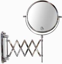 Extendable Bathroom Mirror Extendable Makeup Mirror Ebay