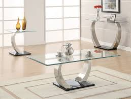 glass end table set round coffee and end table sets glass cheap inside idea 11