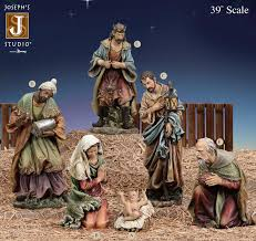 39 joseph s studio nativity set