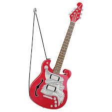 santa claus is comin to town guitar musical ornament keepsake