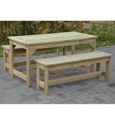 Wooden Patio Dining Set Wooden Patio Dining Set Tcs Country Supplies Berkeley Glos