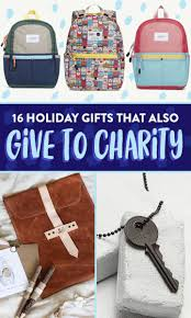 16 gifts that give back this season