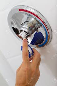How To Fix Bathroom Shower Faucet Fix Of Broken Shower Faucet Cold And Water In The Bathroom