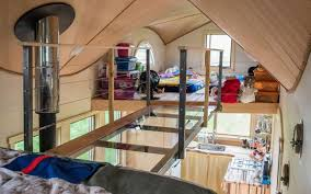 tiny homes images the pequod is a whale of a tiny house for family of four treehugger