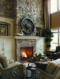 Stone On Walls Interior 100 Fireplace Design Ideas For A Warm Home During Winter