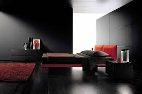 All Black Bedroom Furniture by Bedroom Lovely Modern Black And Red Classy Bedroom Decoration