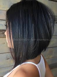 bob haircut with low stacked back shoulder length interesting medium stacked hairstyles in medium length hairstyles