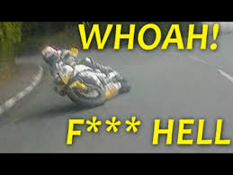 Sle Of Bill Of Sale For A Car by Martin Whoah F Hell Isle Of Tt Crash