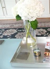 Coffee Table Tray by Silver Coffee Table Tray With Magazine And Glass Vase Coffee
