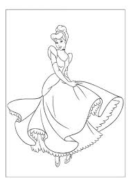 disney princess coloring pages cinderella coloring home