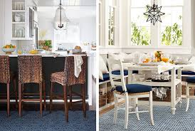 eat in kitchen furniture how to an eat in kitchen pottery barn