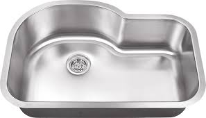Kitchen Sink Gauge by 18 Gauge Large Single Bowl Undermount Stainless Sink With Curved Back