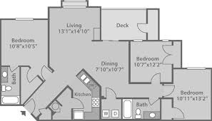 floor plans 3 bedroom 2 bath riverwalk apartments lake norman floor plans carolina denver