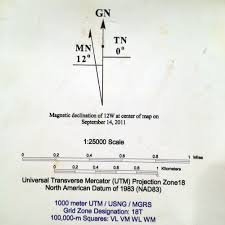 Magnetic Declination Map Land Navigation Course Part 2 Maps U2013 Irminfolk Odinist Community