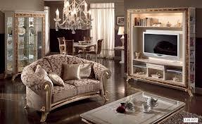 Wohnzimmer Italienisches Design Barock Italienische Stilmöbel Franca