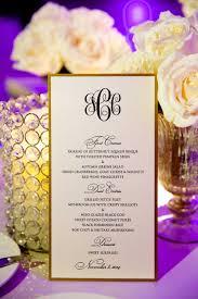 White And Gold Wedding Invitation Cards Invitations U0026 More Photos Black U0026 White Menu Card With Gold