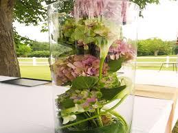 Decoration Florale Mariage Des Hortensias Multicolores Pour Un Mariage Pastel