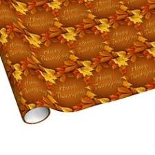 thanksgiving birthday pumpkins gift wrap wrapping paper
