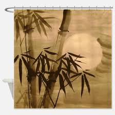 Bamboo Print Shower Curtain Bamboo Print Shower Curtains Bamboo Print Fabric Shower Curtain