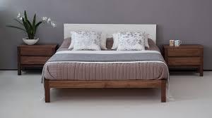 ex display sale bed sol modern walnut bed natural bed