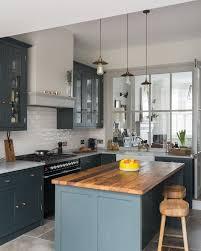 rustic blue gray kitchen cabinets 25 grey kitchen ideas modern accent grey kitchen design