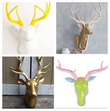 home decor stag heads everywhere lets talk mommy