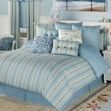 clearwater coastal striped comforter bedding