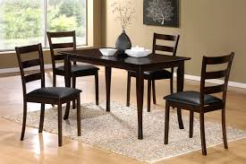 48 by 48 table by 48 table solid wood top cappuccino finish