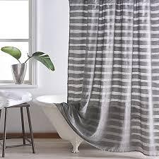 Kate Spade Striped Shower Curtain Dkny Loft Stripe Shower Curtain Striped Shower Curtains Lofts