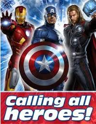 marvel the avengers party invitations