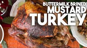best turkey marinade for thanksgiving buttermilk brined mustard turkey thanksgiving u0026 christmas