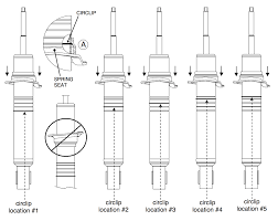 Typical Seating Height by Bilstein Height Adjustable 5100 Shocks For 2000 2006 Toyota Tundra