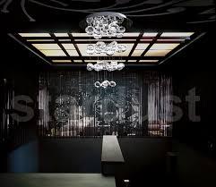 Glass Droplet Chandelier Modern Interior Design 150 Blown Large 56 1 4
