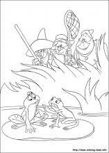 The Princess And The Frog Coloring Pages On Coloring Book Info Princess And The Frog Colouring Pages