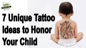 7 unique ideas to honor your child