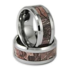 Mens Hunting Wedding Rings by 10mm Wide Men U0027s Tree Camo Tungsten Ring Camouflage Wedding Band By