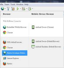 android default browser how to make firefox developer edition the default browser for a