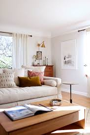 Simple Livingroom by Our Sun Filled Living Room With Warm Woods And White Coco Kelley