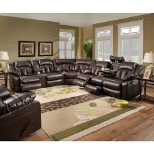 motion sofas and sectionals simmons upholstery sebring coffeebean motion sectional with storage