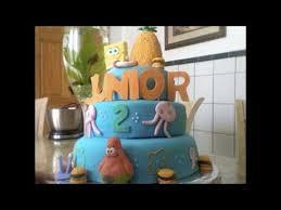 spongebob fondant cake youtube