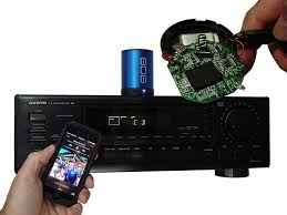 concealing wires for home theater bluetooth speaker hack home theater streaming 8 steps with