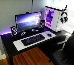 ultimate gaming desk setup awesome gaming pc setup best gaming pc setup rate this setup