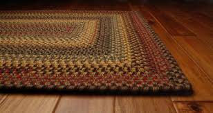 Rectangle Rug Braided Rugs At Primitive Star Quilt Shop